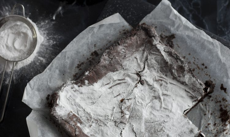 vegan brownie recept